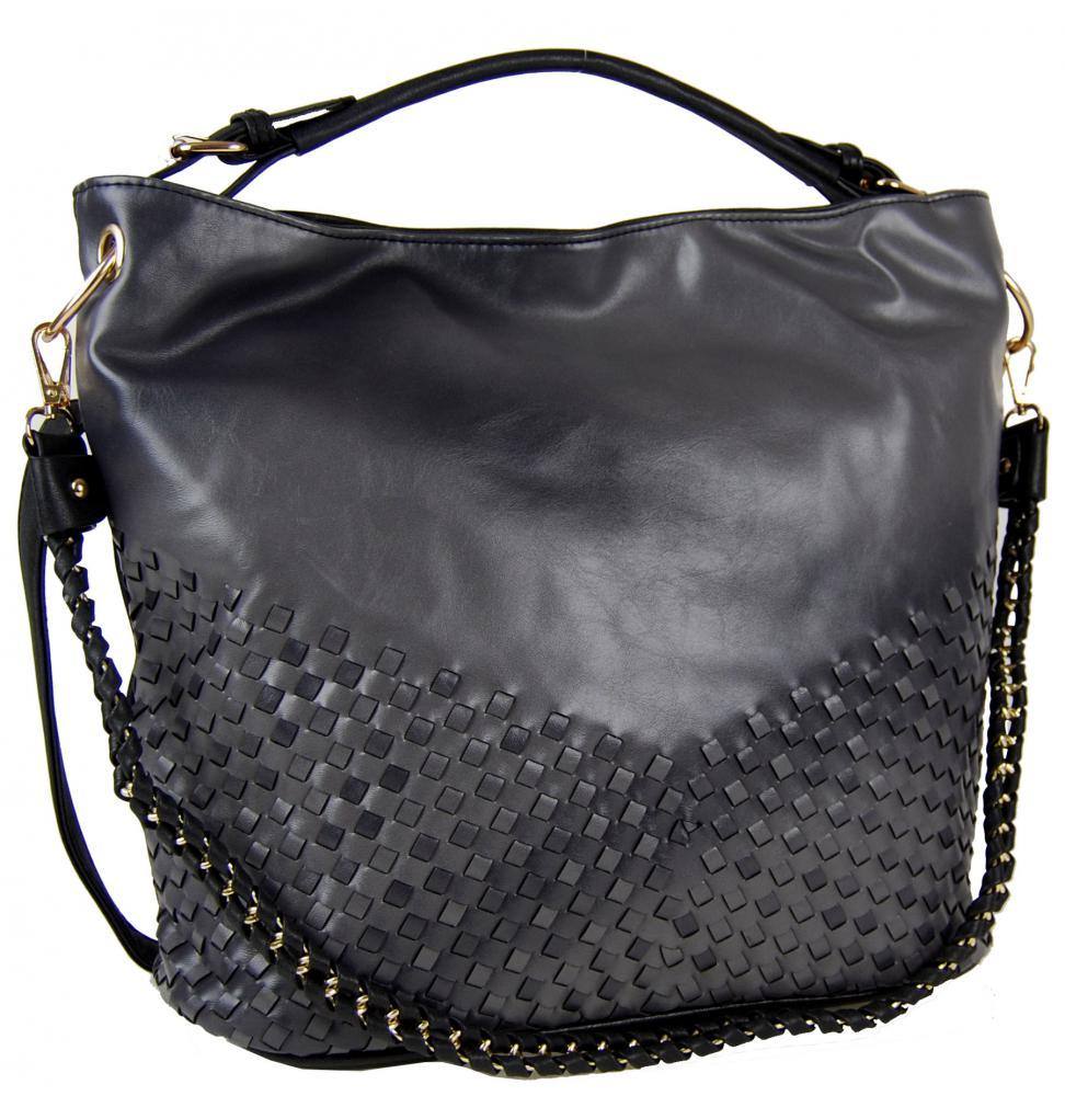 Unikátna kombinovaná kabelka Tapple 3091 čierna