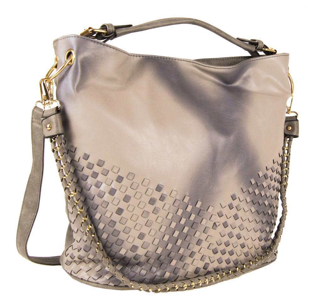 Unikátna kombinovaná kabelka Tapple 3091 hnedá