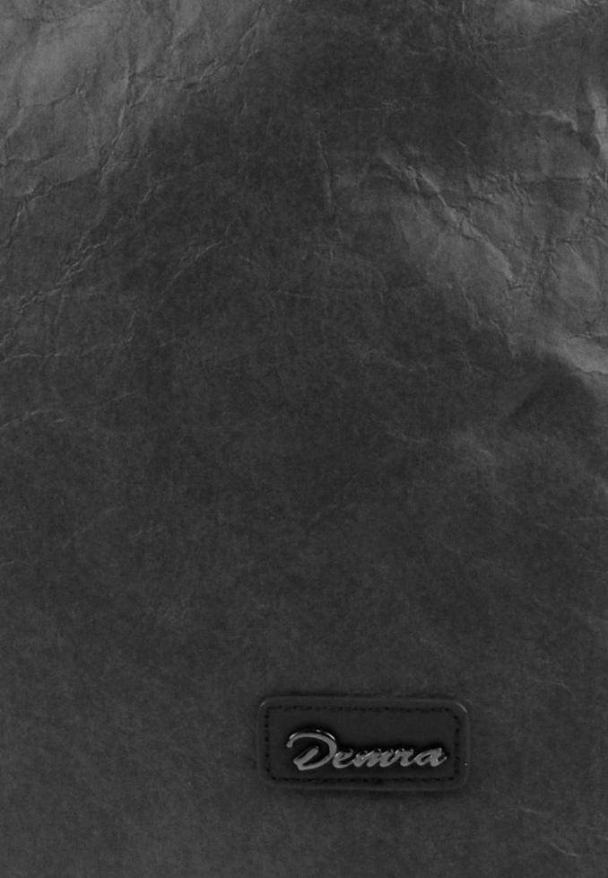 Moderná veľká kabelka cez plece 3813-DE šedá  f31f680fff4