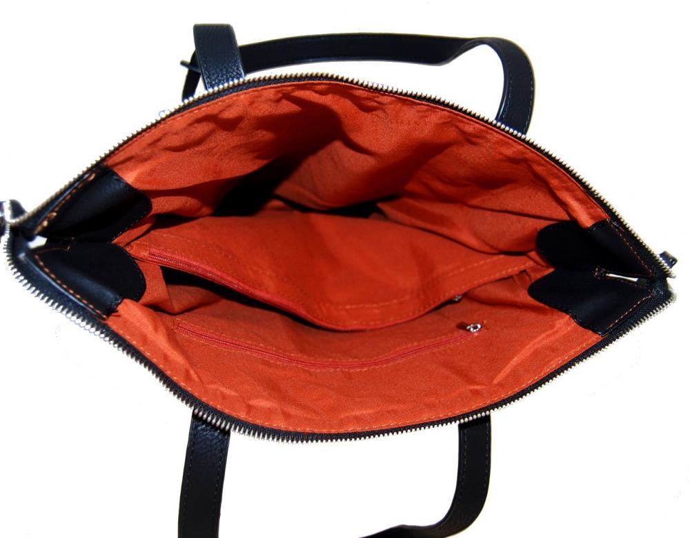 Stylová velká kabelka na rameno 404-BB červená
