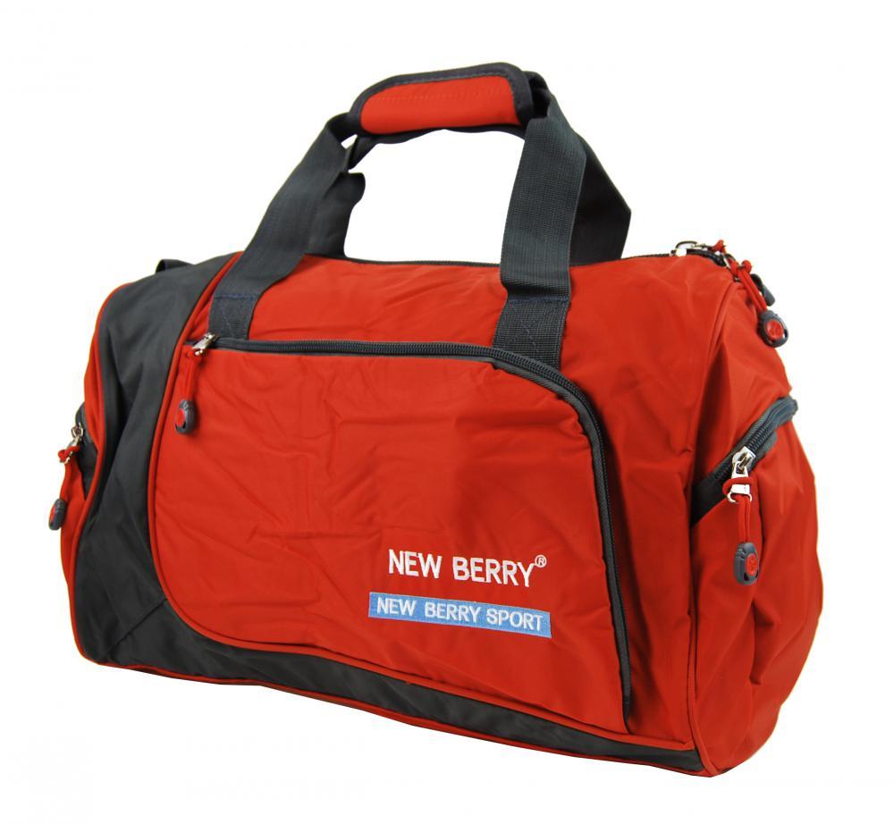 Sportovní taška New Berry 5333 oranžová