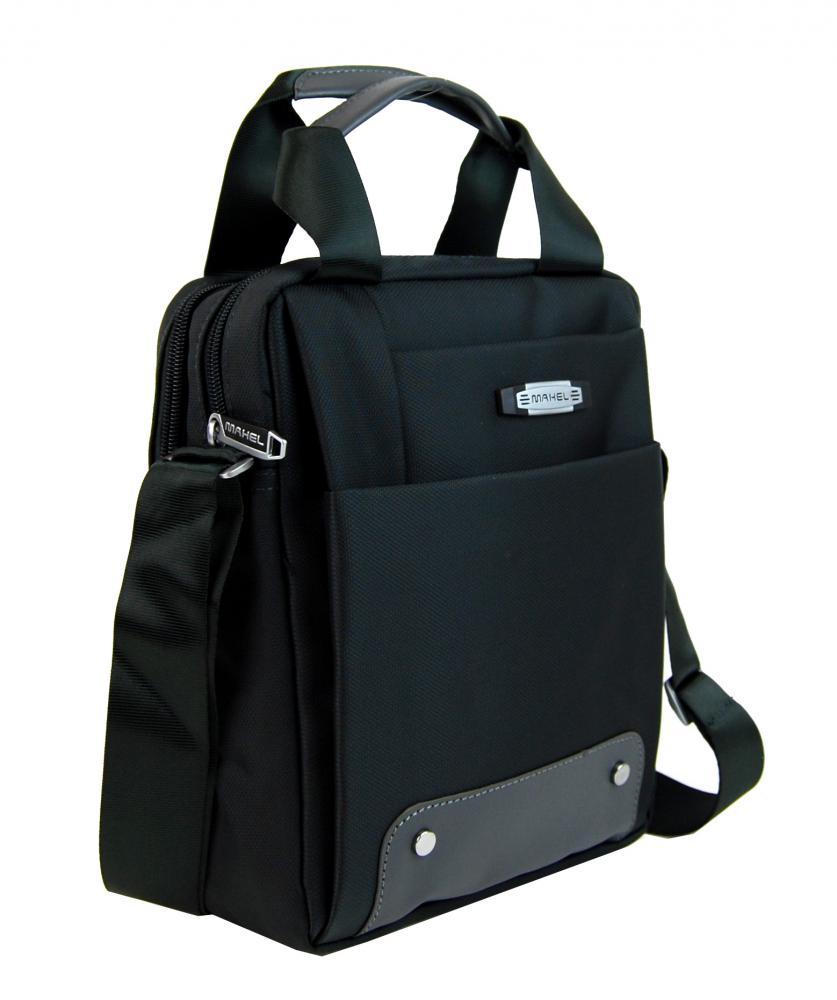 Kombinovaná pánska taška do ruky aj crossbody 8812-1 čierná