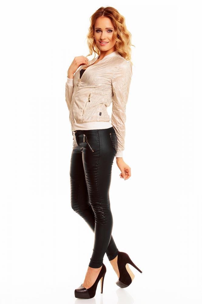 Lehká dámská oboustranná bunda Zac Zoe béžová