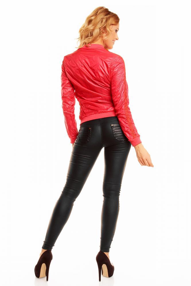 Lehká dámská oboustranná bunda Zac Zoe červená