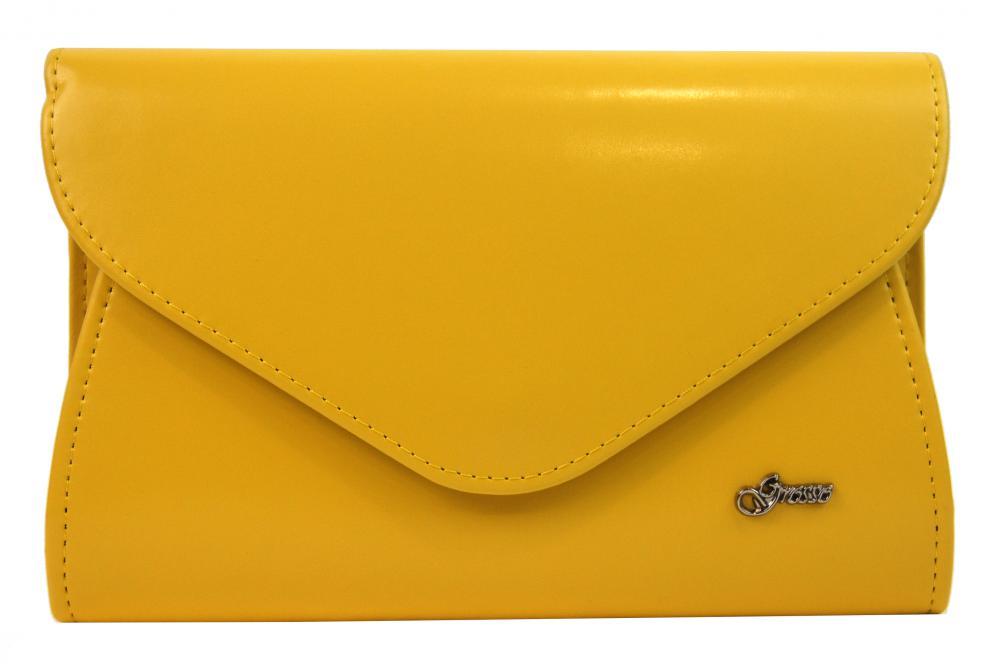 GROSSO banánově žluté dámské psaníčko SP126