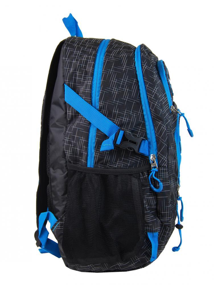 Veľký batoh NEWBERRY do mesta / do školy HL0911 čierno-modrý