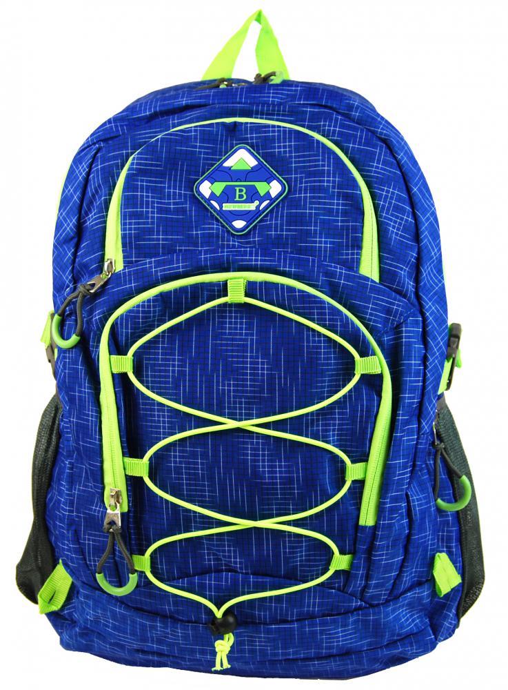 NEW BERRY Modrý velký batoh