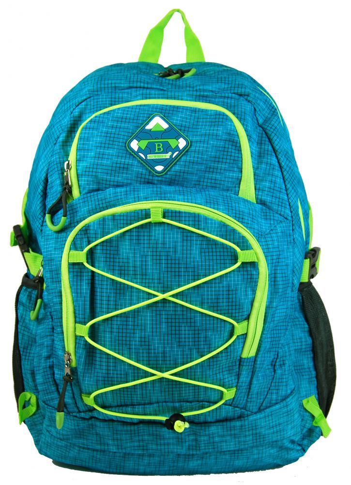 NEW BERRY Aqua modrý velký batoh