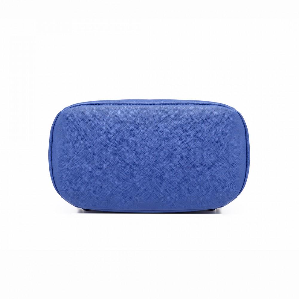 Stylový dámský modní batoh E1669 modrý