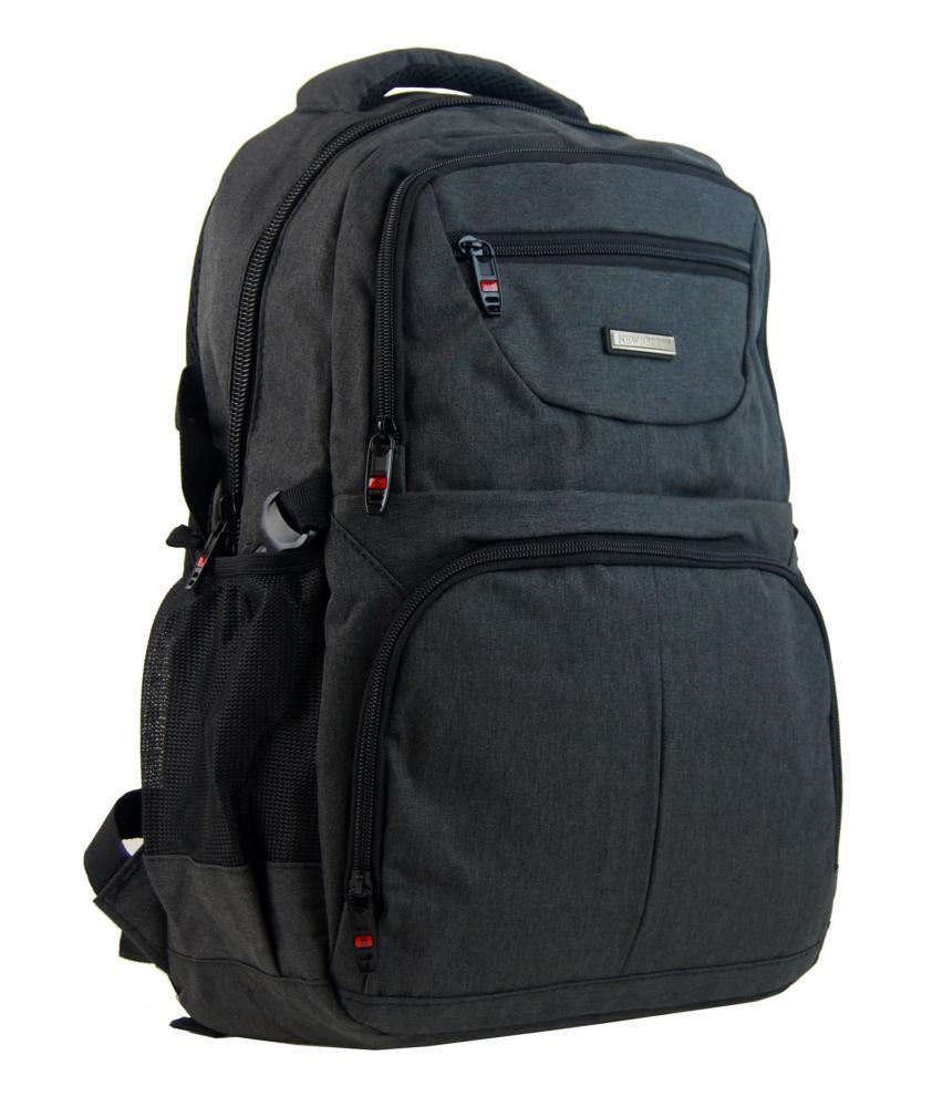 NEW BERRY Černý elegantní batoh do školy i na výlety