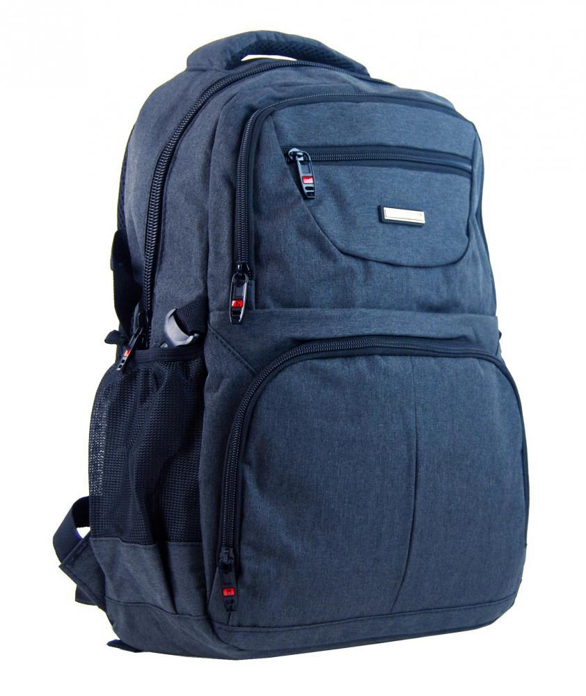 NEW BERRY Modrý elegantní batoh do školy i na výlety