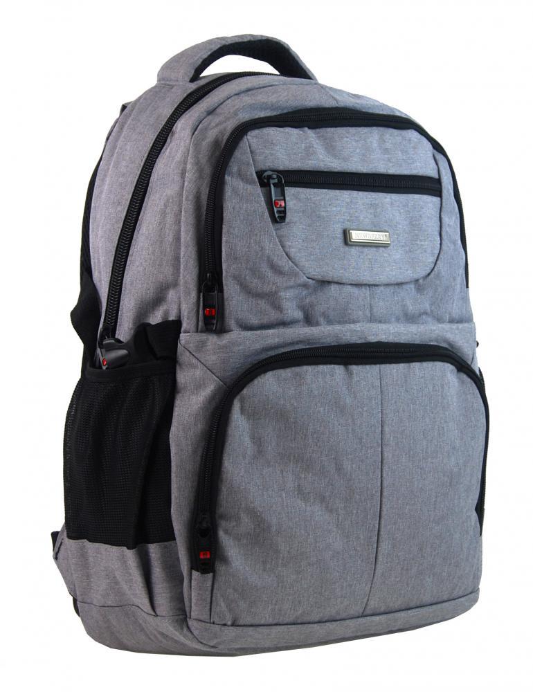 NEW BERRY Světle šedý elegantní batoh do školy i na výlety