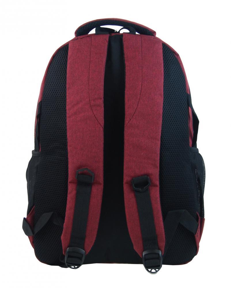 New Berry Elegantní polstrovaný školní batoh L18105 anticky červený