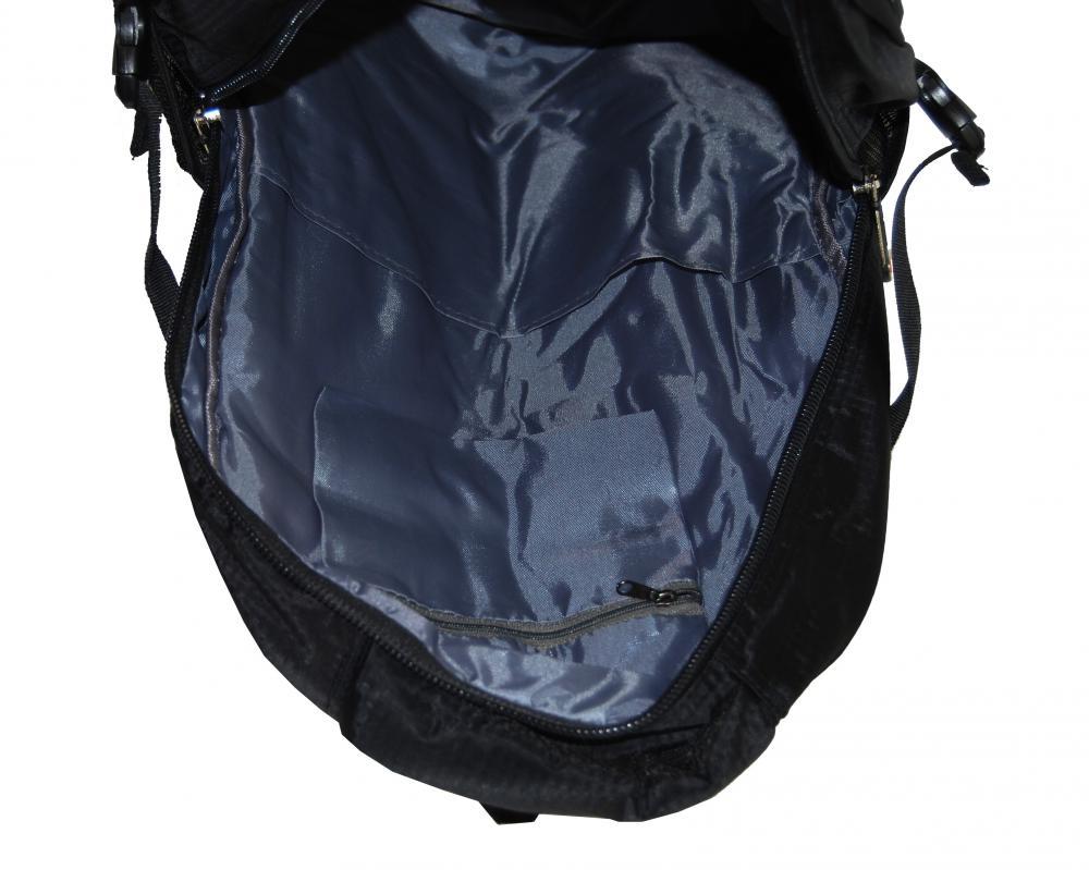 Větší batoh NEWBERRY do školy i na sportování L1911 černo-žlutý