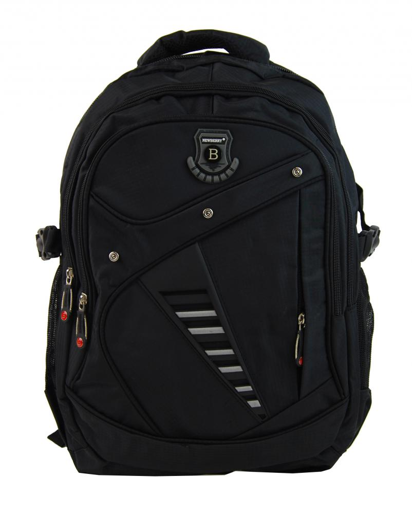 Větší batoh NEWBERRY do školy i na sportování L1911 černý