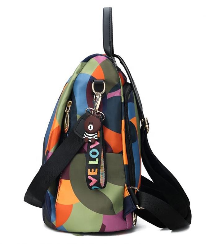 Farebný batôžtek / kabelka cez rameno