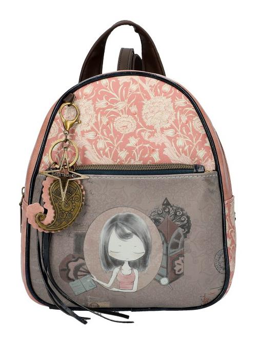 Sweet & Candy Dámsky farebný batôžtek s potlačou #1