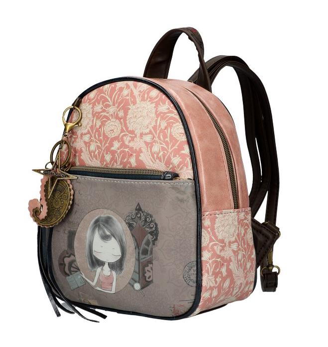 Sweet & Candy Dámský barevný batůžek s potiskem #1