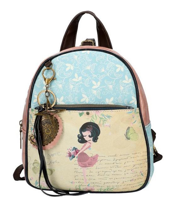 Sweet & Candy Dámsky farebný batôžtek s potlačou #3