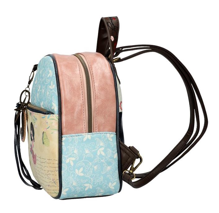 Sweet & Candy Dámský barevný batůžek s potiskem #3