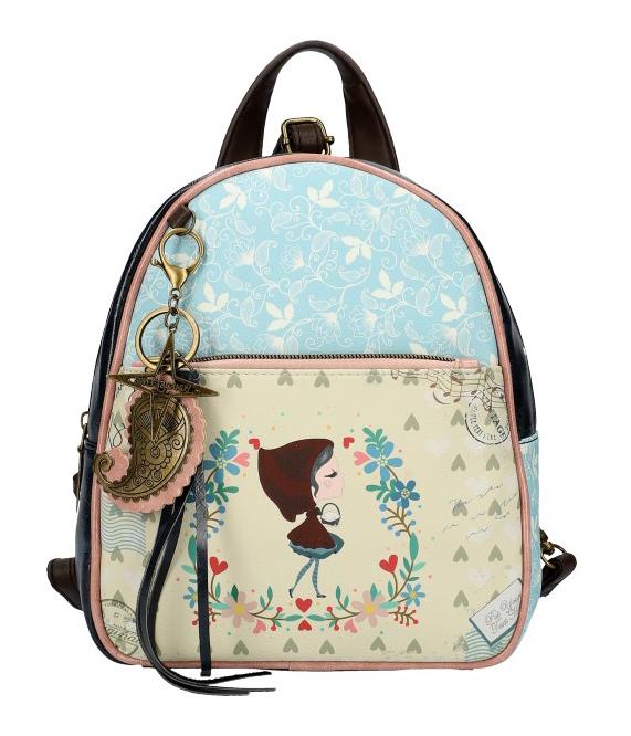 Sweet & Candy Dámsky farebný batôžtek s potlačou #4