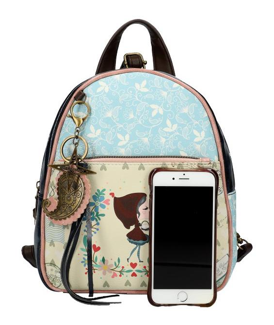 Sweet & Candy Dámský barevný batůžek s potiskem #4