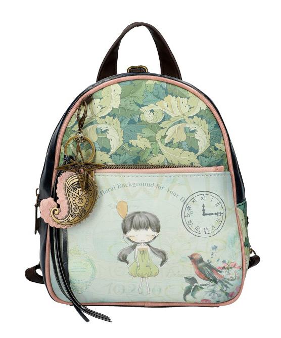Sweet & Candy Dámsky farebný batôžtek s potlačou #6