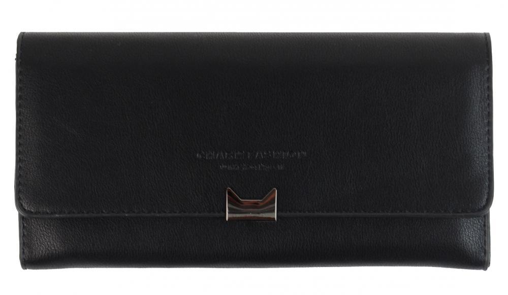 Čierna dámska peňaženka Charm Fashion C176-2