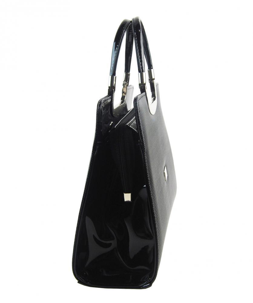 Elegantní bílá matná kabelka v kroko designu S8 GROSSO