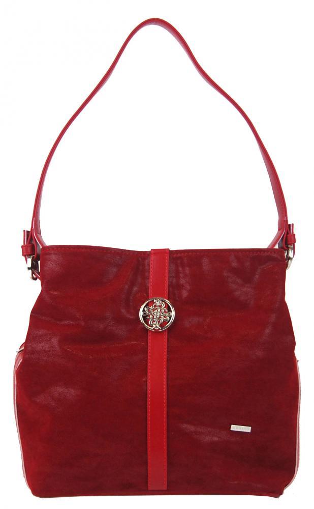 GROSSO Červená dámská kabelka přes rameno S404