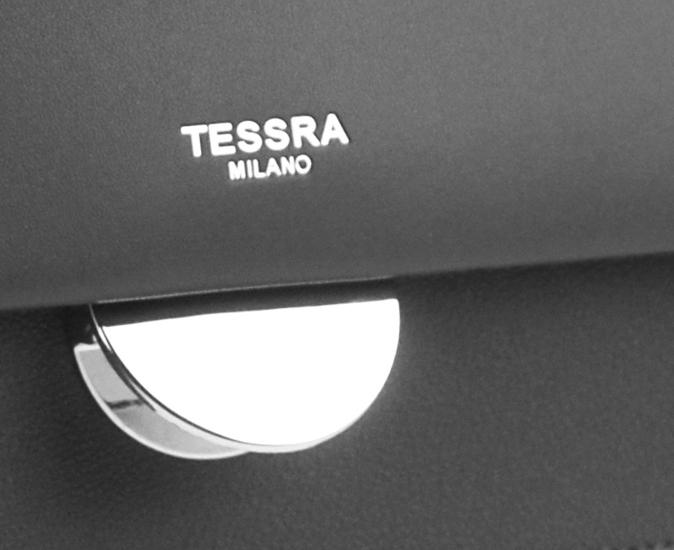 Tmavo sivá menšia crossbody dámska kabelka s chlopňou 4995-TS