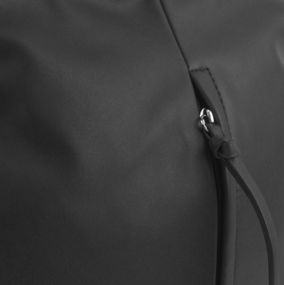 Čierna stredne veľká crossbody dámska kabelka 5049-BB
