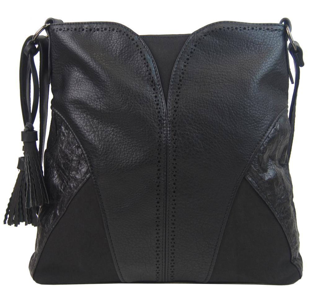 BELLA BELLY Crossbody dámská kabelka černá 5100-BB