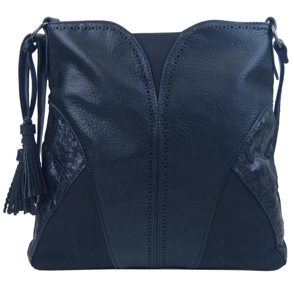 BELLA BELLY Crossbody dámská kabelka tmavě modrá 5100-BB