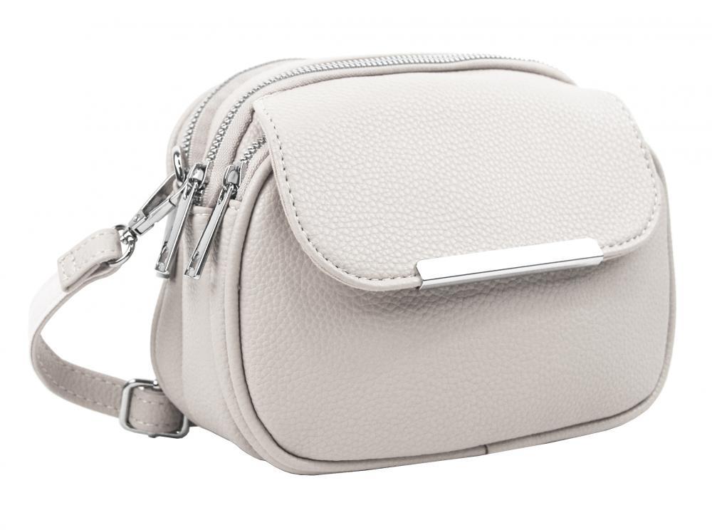 MARIA MARNI Crossbody dámská kabelka krémová / béžová 5485-BB