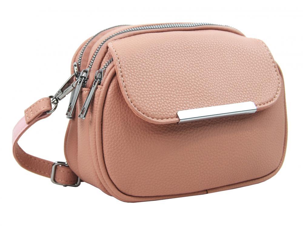 MARIA MARNI Crossbody dámská kabelka růžová / pudrová 5485-BB