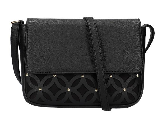 Čierna dámska crossbody kabelka AM0111
