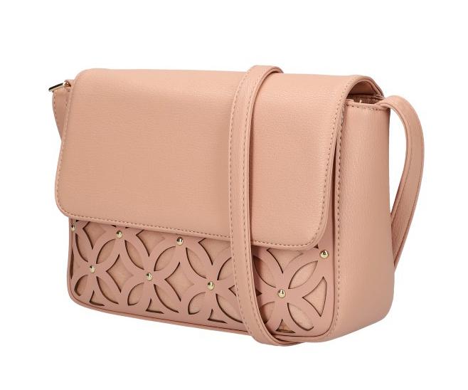 Růžová dámská crossbody kabelka AM0111