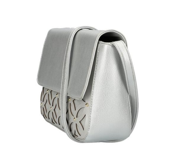 Stříbrná dámská crossbody kabelka AM0111