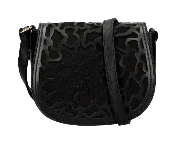 Čierna dámska crossbody kabelka AM0128