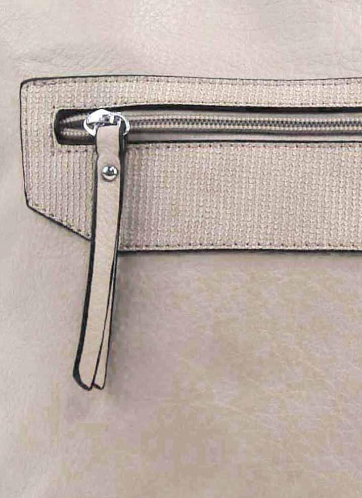 Béžová crossbody dámska kabelka FB1922