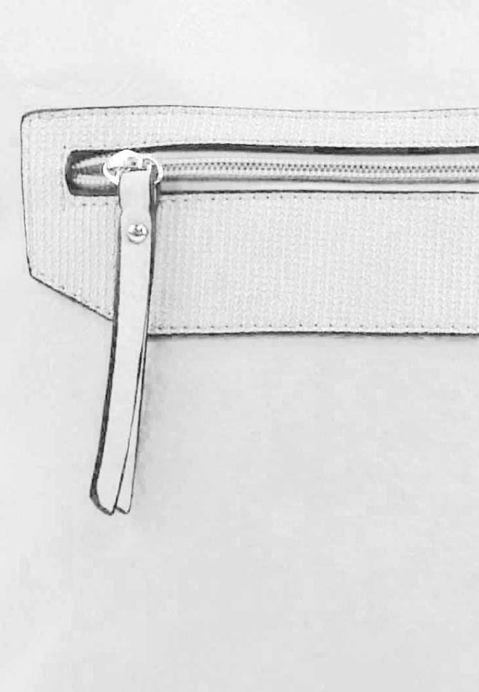 Biela crossbody dámska kabelka FB1922