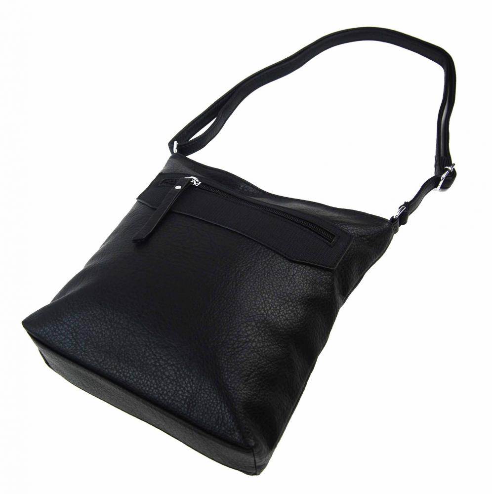 Černá crossbody dámská kabelka FB1922