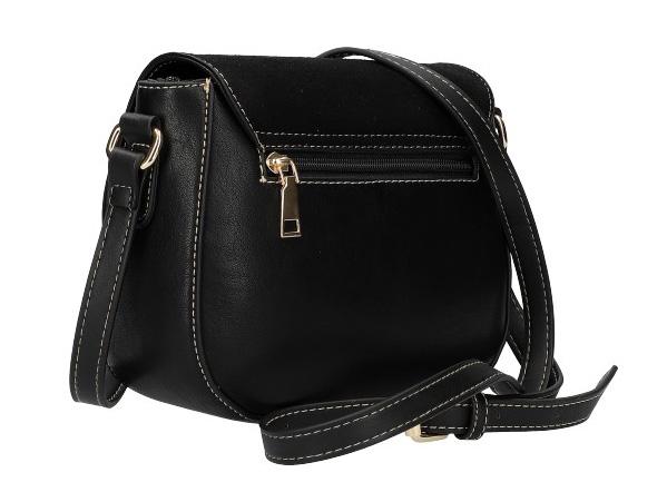 Crossbody dámská kabelka KR842 černá