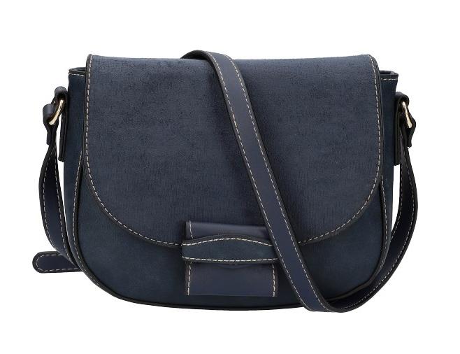 Crossbody dámská kabelka KR842 modrá