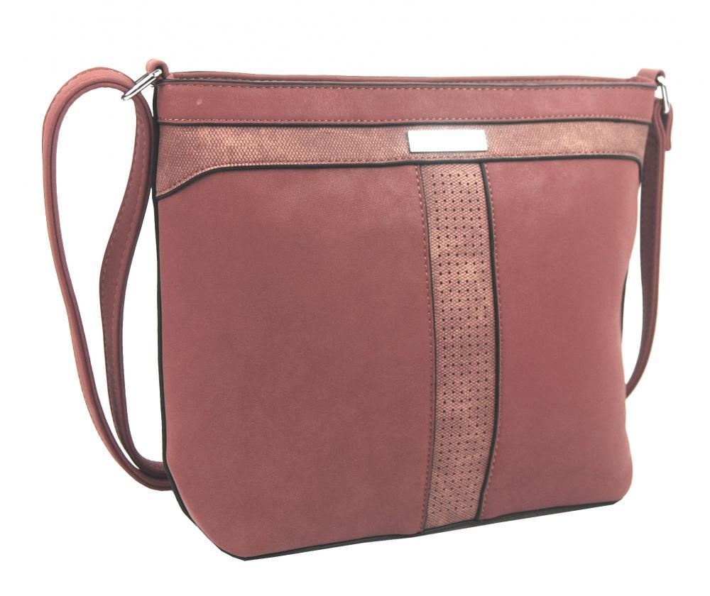 Crossbody dámská kabelka NH8069 růžová