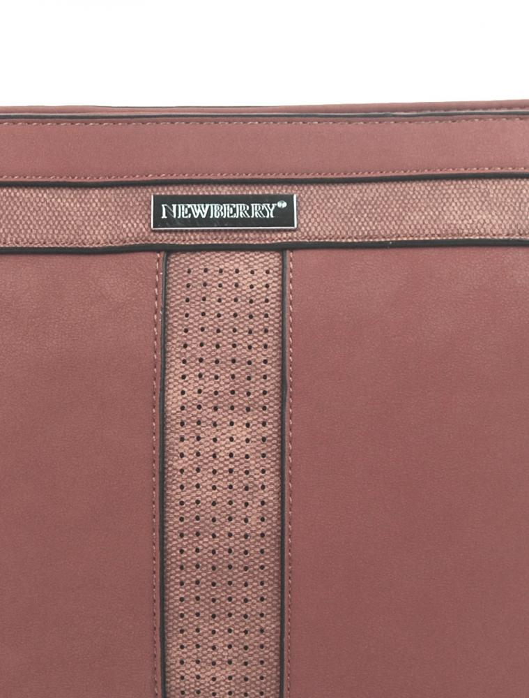 Crossbody dámska kabelka NH8069 ružová