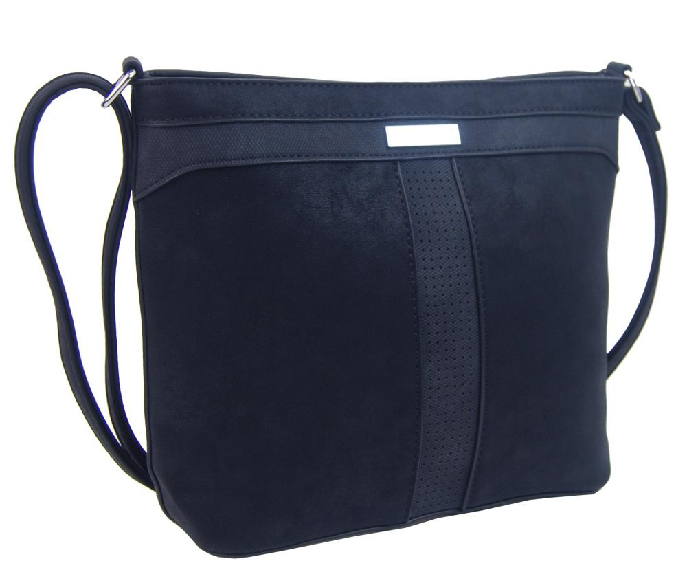 Crossbody dámská kabelka NH8069 tmavě modrá