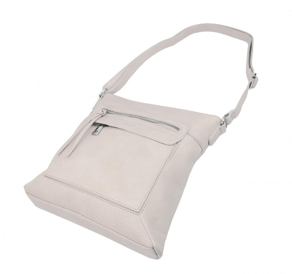 Crossbody dámská kabelka béžová 5569-TS