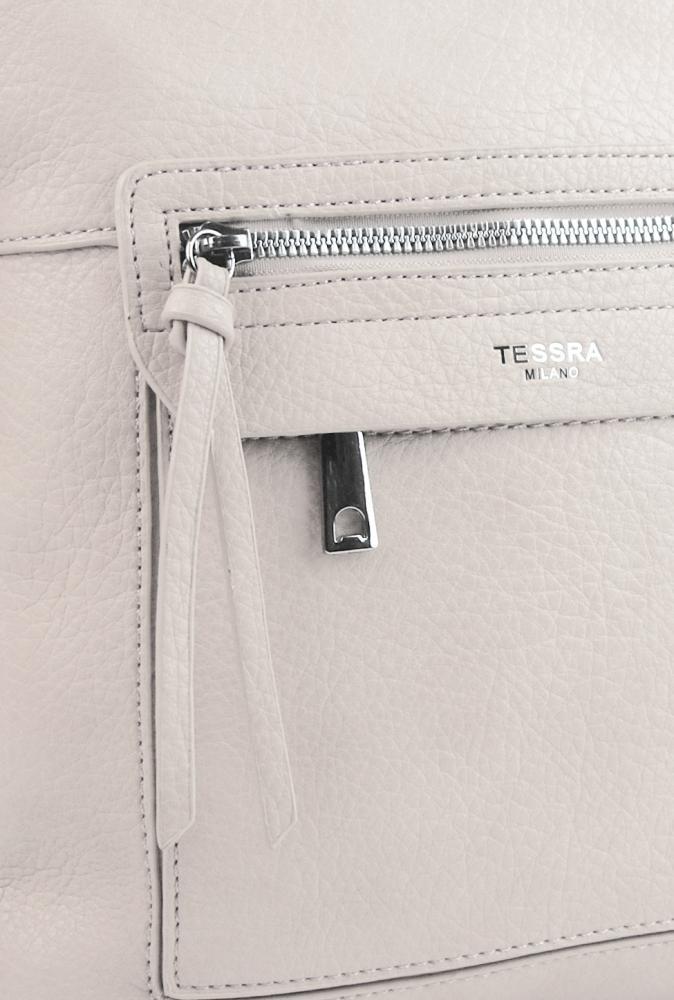 Crossbody dámská kabelka béžová 5593-TS
